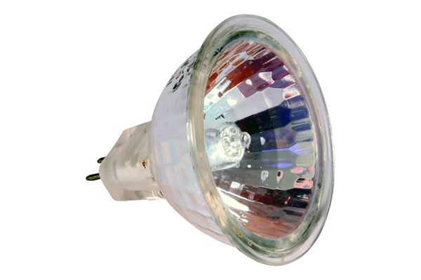 Halogen pære 12 V, 50 watt, GU 5,3, Ø 50 mm