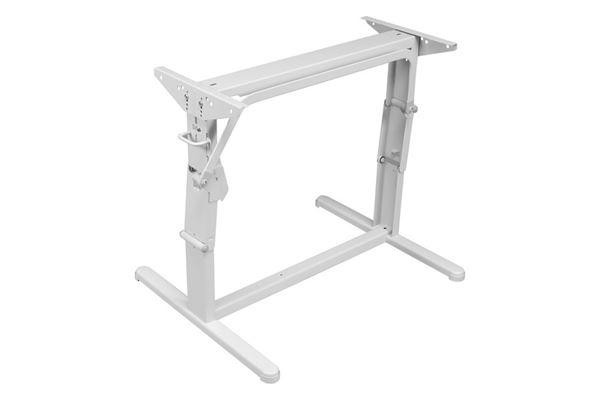 Image of   Hæve/sænke-bordstel, lysegråt, L 600 x H 340/700 mm