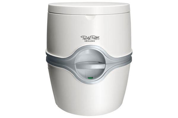 Kemisk toilet - Porta Potti Excellence, hvid.