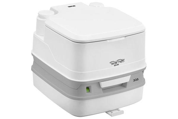 Kemisk toilet - Porta Potti Qube 335 HDK, hvidt