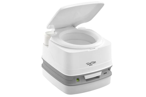 Kemisk toilet - Porta Potti Qube 345, hvidt