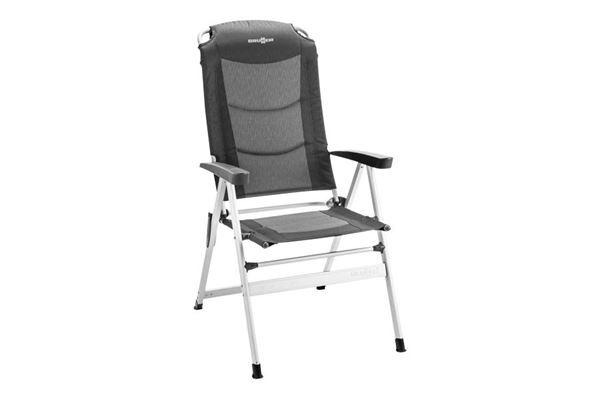 Kerry Slim polstret høj stol med enkeltstående ben, shadow