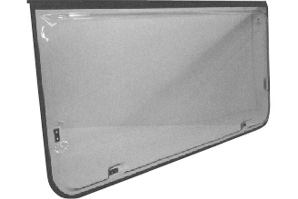 Klart vindue, oplukkeligt, H 660 x L 1550 mm