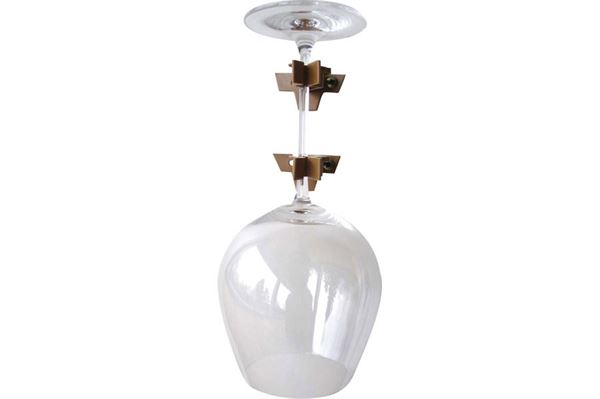 Mega Klipp glasholder L, enkelt