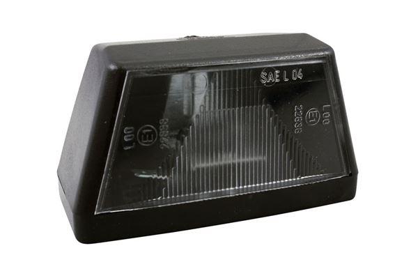 Image of   Nummerpladelygte Jokon K 415, sort, H 50 x L 90 x D 60 mm