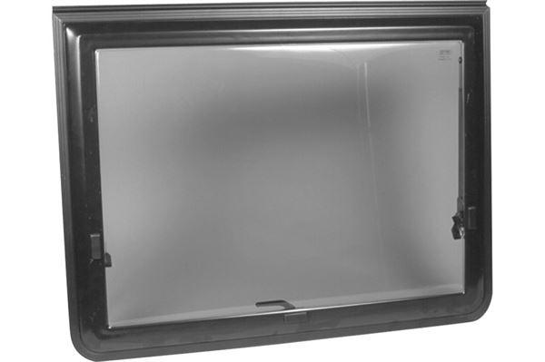 Oplukkeligt vindue 9300, polyplastik, 1450 x 600 mm