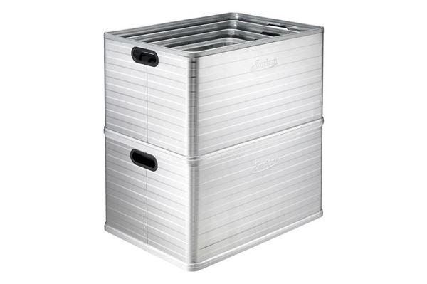 Ottawa aluminiumsbokse, sæt med alle 4 størrelser
