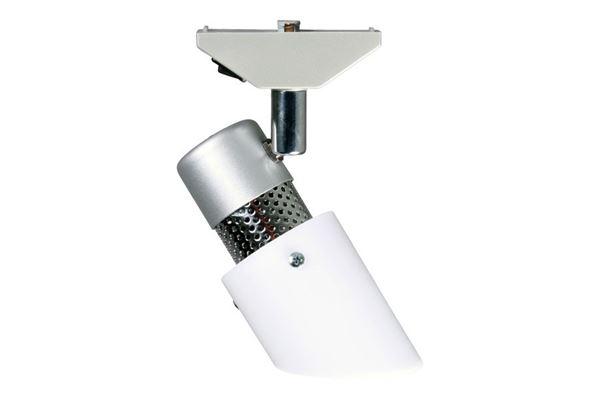 Påbygningsspot, hvid 12 V / 10 watt - Dethleffs