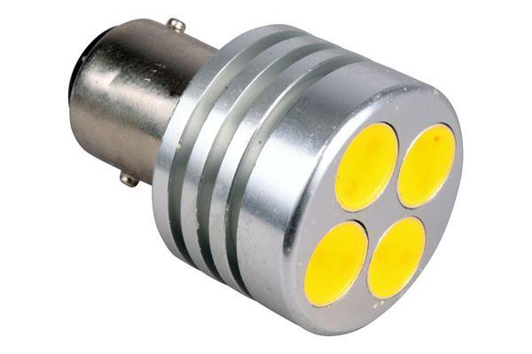 Pære med 4 LED - 2,1 / 0,8 watt