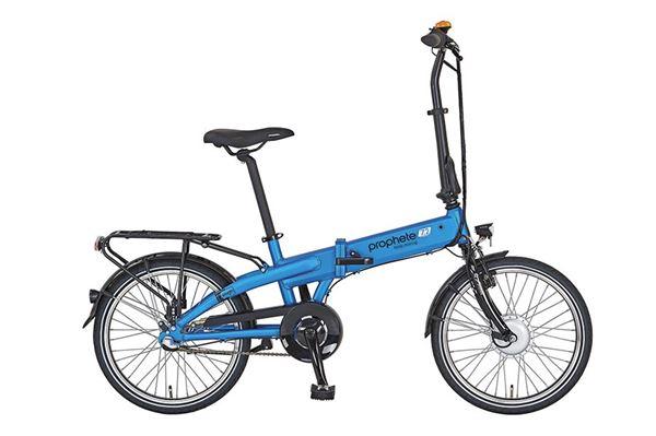 "Prophete aluminiums el-folde-cykel, 20"", Navigator 7.2, 3 gear."