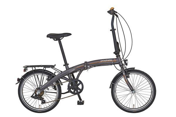 """Prophete aluminiums folde-cykel 20"""", Geniesser 7,1, 7 gear."""