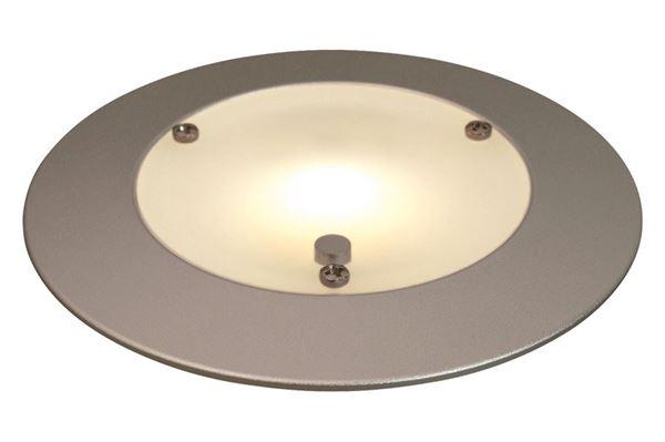 Rund LED lampe til indbygning 8 V - 30 V