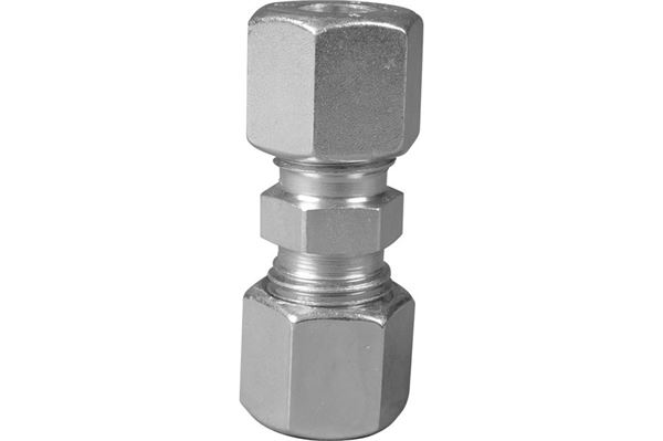 Samleled, stål, 8 x 8 mm