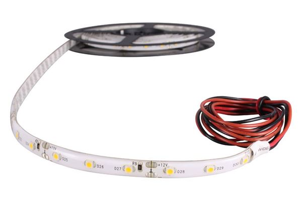 Selvklæbende LED bånd med kabel