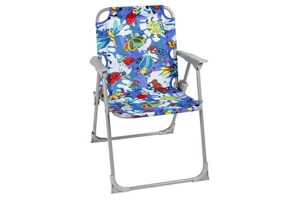 Sjov og farverig klapstol til børn
