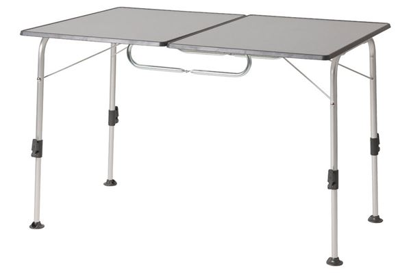 Stabillic twin campingbord 120 x 80 cm, antrasit