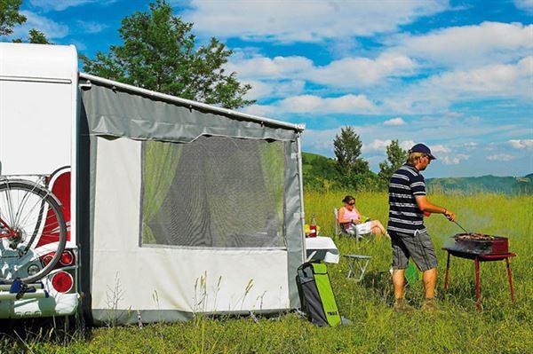 Standardsider Safari Residence G2 til Omnistor markise 8000