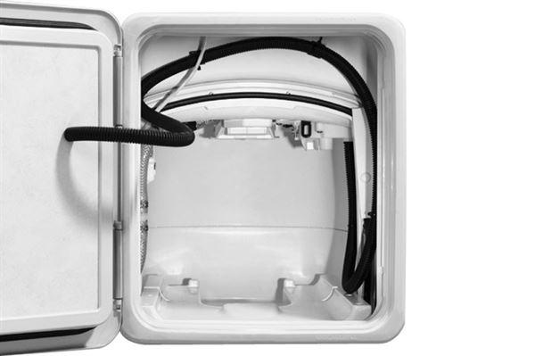 Thetford trykudligningsventil for serviceluge til kassettetoilet