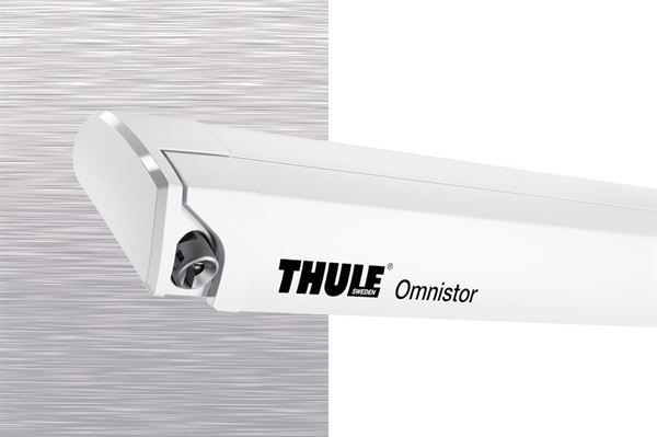 Thule Omnistor markise 6200, mystic grey, hvid boks
