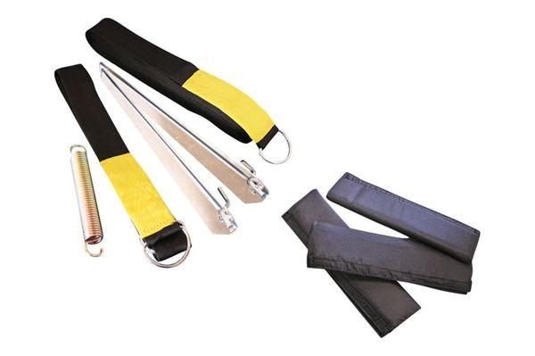 Tie-down kit med beskyttelsespude