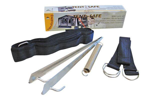 Tie-down kit uden beskyttelsespude