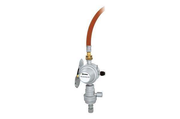 Truma MonoControl CS gasregulator - vertikal montage