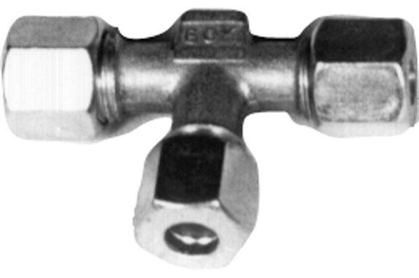 T-stykke, stål, 8 x 8 x 8 mm