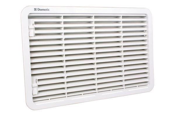 Ventilationsgitter LS 330, hvidt