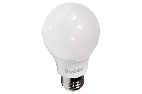 Verbatim LED Classic A, E27 fatning, 6 W