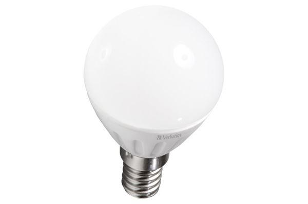 Verbatim LED miniglobe, E14 fatning, 3,5 W