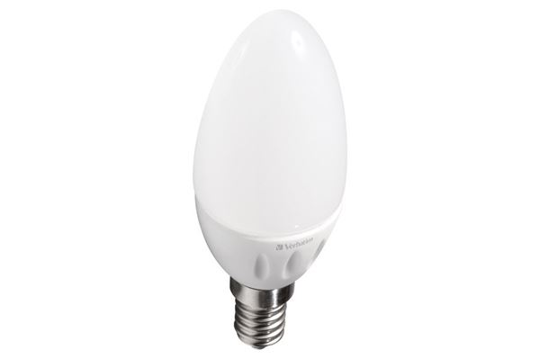 Verbatim LED-kertepære, matteret, E14 fatning, 4,5 W